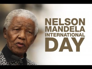 Nelson Mandela International Day - July  18